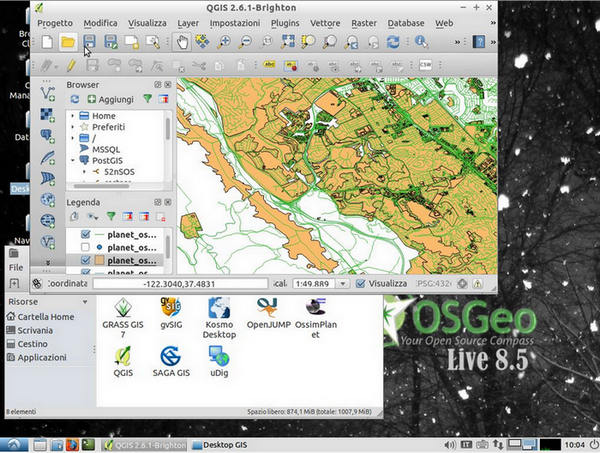 OSGeo-Live - In un DVD Live tutto il software geospaziale open source