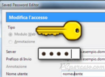 Saved Password Editor - Gestire al meglio le password in Firefox