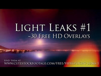 PCpercaso.com :: Light Leaks #1 - Free HD video overlays