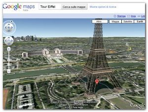 Plug-in Google Earth - Tour Eiffel