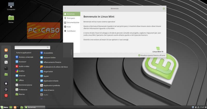 Nuova Linux Mint 19 'Tara' - Novità e come aggiornare - PCpercaso com