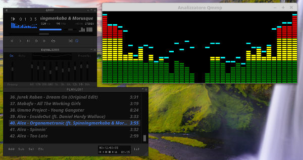 Qmmp - Il player in stile Winamp in Linux