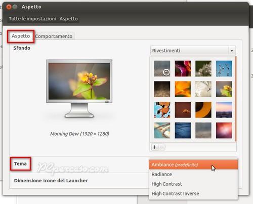 Scarica temi per ubuntu 11.10