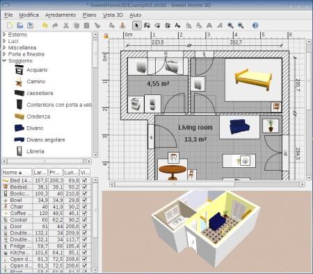 28 sweet home 3d programma progettazione sweet home - Programma per progettare casa 3d ...