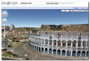 Plug-in Google Earth - Colosseo