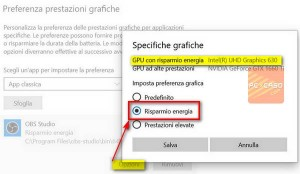 PCpercaso.com :: Windows 10 - Specifiche grafiche applicazione