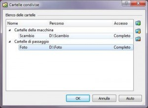 VirtualBox: Cartelle condivise