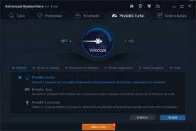 PCpercaso.com :: Advanced SystemCare 8 Free - Modalità Turbo