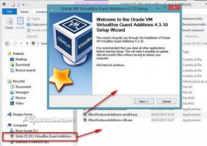 PCpercaso.com :: VirtulaBox 4.3.10 - Aggiornamento Guest Additions